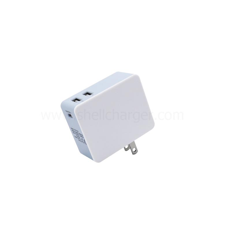 Wall-Charger with Power Bank